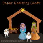 Stand-up Nativity Craft