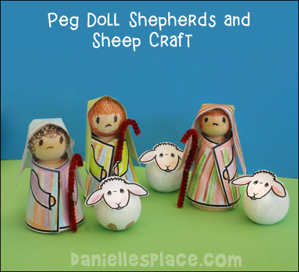 Peg Doll Shepherds