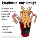 Reindeer Treat Cup Craft
