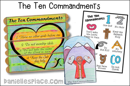 The Ten Commandments Bible Lesson