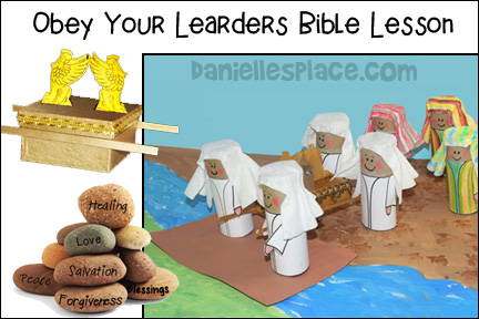 Joshua - Obey Your Leaders Bible Lesson