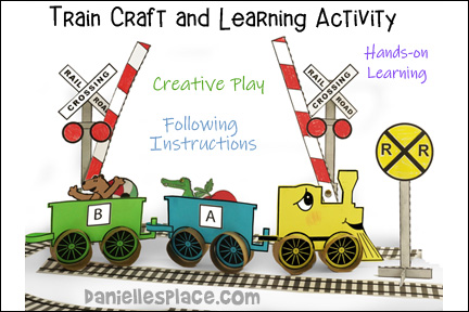 Train Craft and Hands-on Learning Activities for Kids
