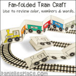 Train Fan-fold Book