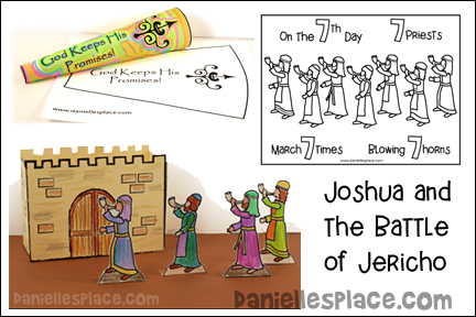 Joshua Fights the Battle of Jericho Bible Lesson for Children