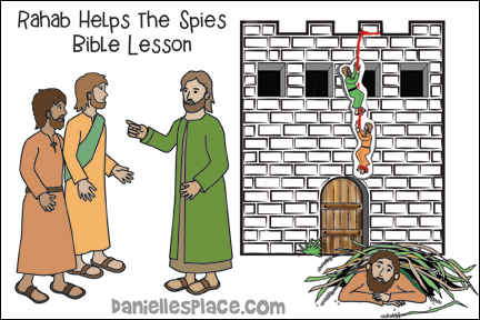 Rahab Helps the Spies Bible Lesson