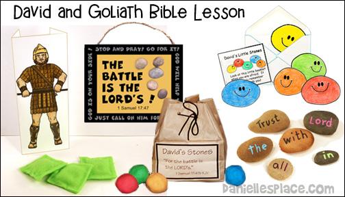 David and Goliath Bible Lesson for Children