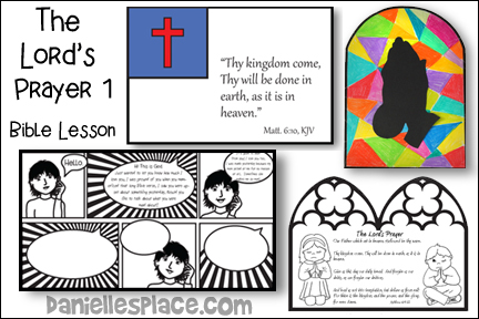 The Lord's Prayer Bible Lesson - Part 1