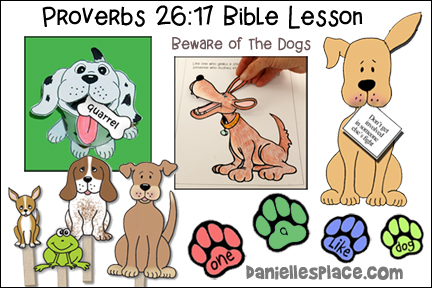 Beware of the Dogs Bible Lesson