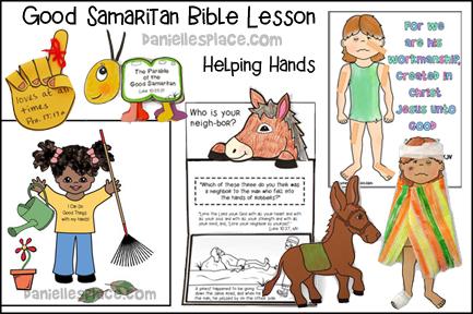Good Samaritan Bible Lesson - Helping Hands