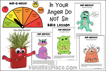 """In Your Anger Do No Sin"" Bible Lesson - KJV"
