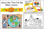 Jesus Has Time for Me Bible Lesson - Let the Little Children Come to Me!