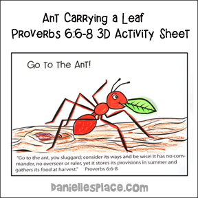 Working Ants Activity Sheet