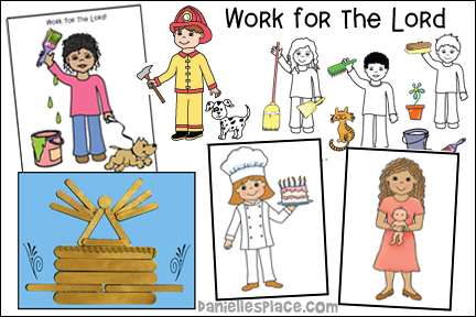 Work for the Lord Bible Lesson