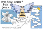 """What About Angels?"" Bible Lesson"