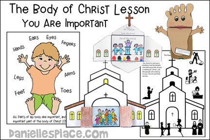 Body of Christ Bible Lesson