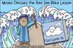 Moses Crosses the Red Sea Bible Lesson