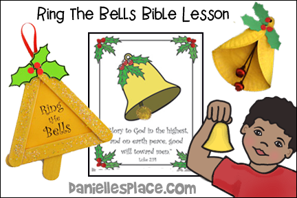 """Ring the Bells!"" Christmas Bible Lesson for Children"
