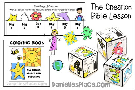 """Free """"The Creation"""" Bible Lesson for Children's Ministry"""