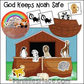 God Keeps Noah Safe Bible Lesson