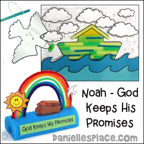 Noah, God Keeps His Promises Bible Lesson
