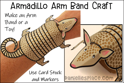 Armadillo Arm Band Craft