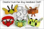 Create-Your-Own Bug Headband Craft